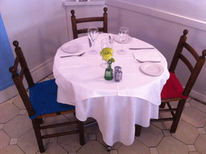 Your table is ready!